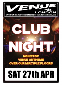 Club Night 27.04.19